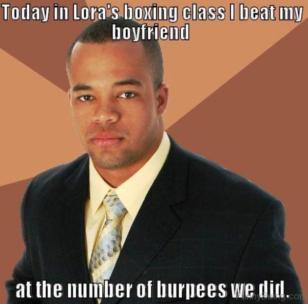 Today Is Lora Boxing Class I Beat My Boyfriend