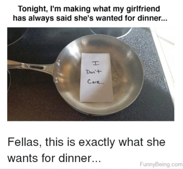 Tonight Im Making What My Girlfriend