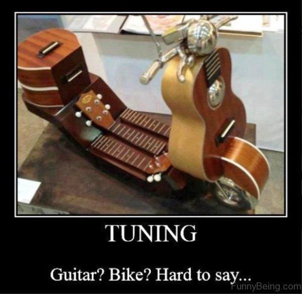 Tuning Guitar Bike
