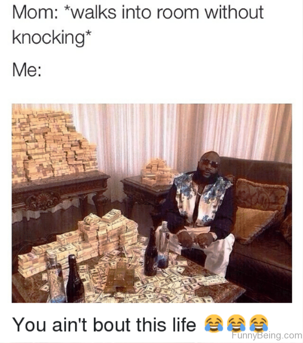 Walks Into Room Without Knocking