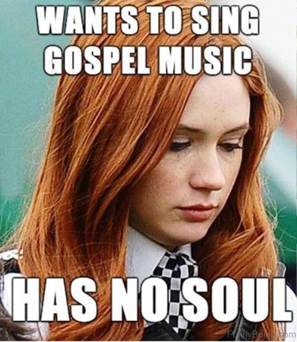 Wants To Sing Gospel Music