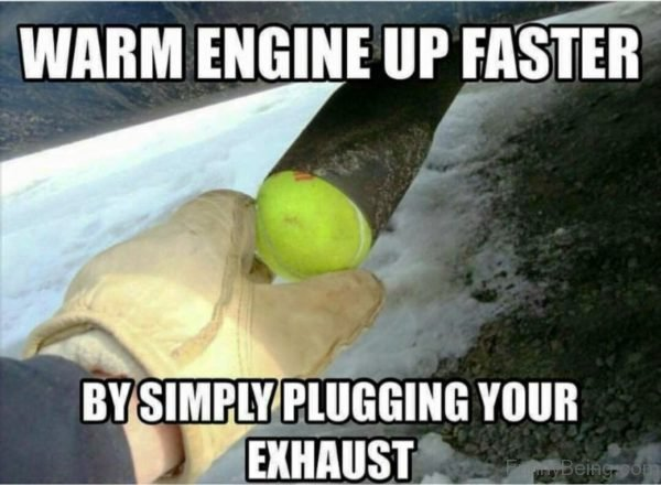 Warm Engine Up Faster