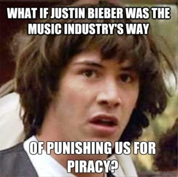 What If Justin Bieber Was The Music Industry
