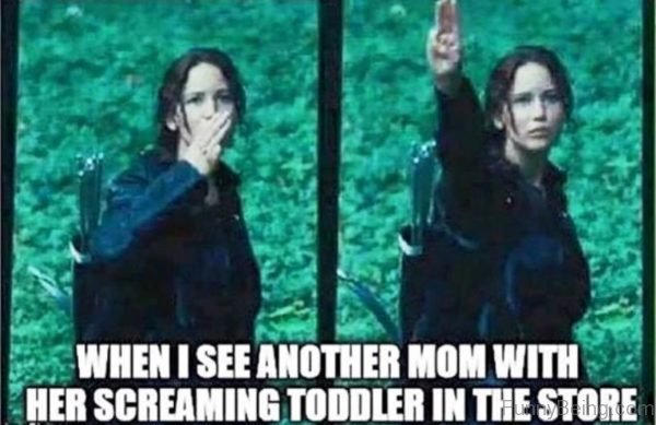 When I See Another Mom With Her Screaming