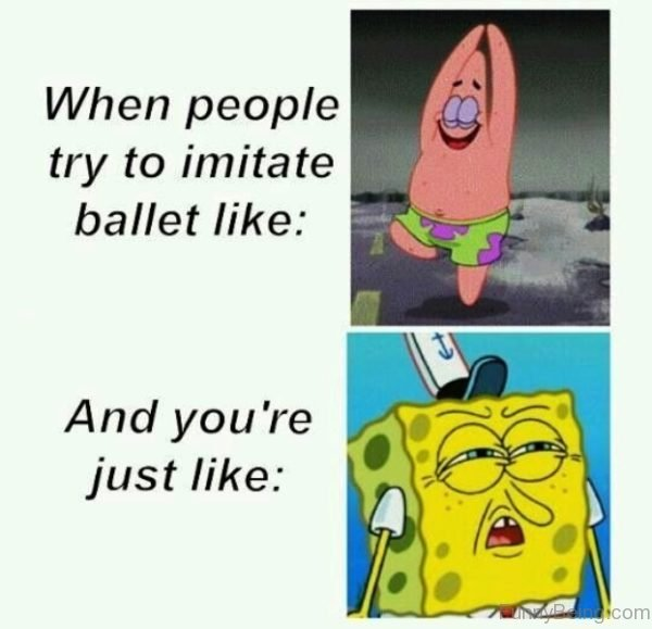 When People Try To Imitate Ballet Like
