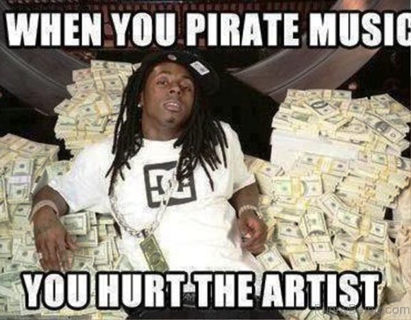 When You Pirate Music