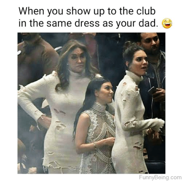 When You Show Up To The Club