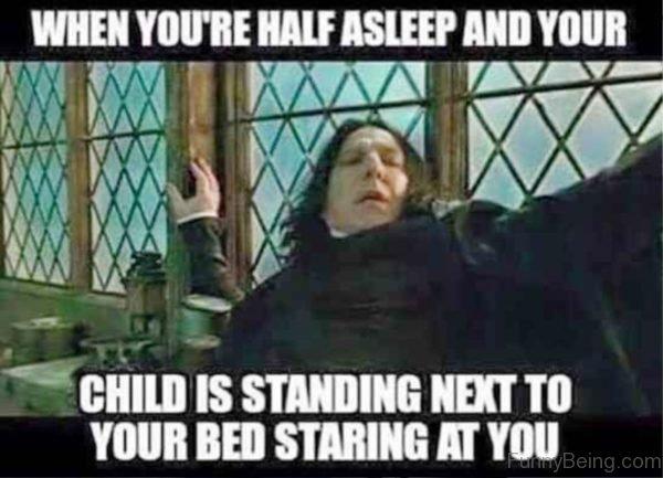 When You re Half Asleep
