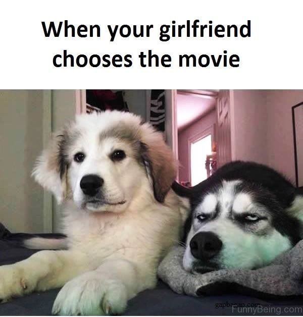 When Your Girlfriend Chooses The Movie