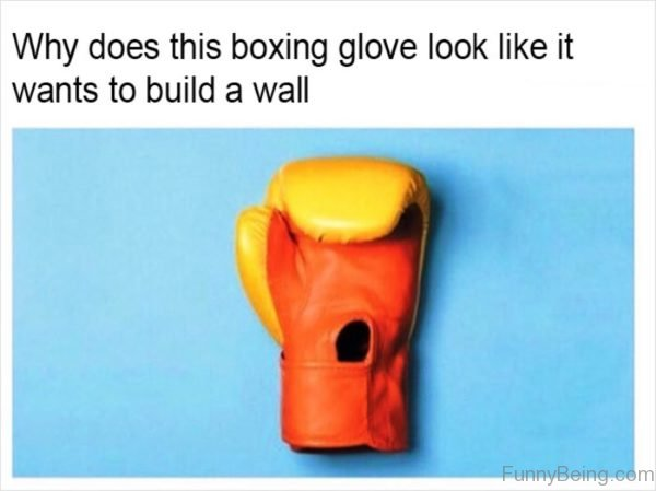 Why Does This Boxing Glove Look Like It