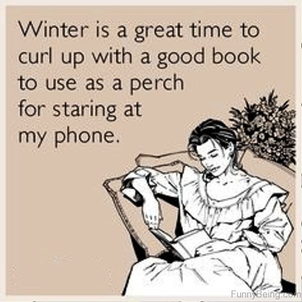 Winter Is A Great Time To Curl Up