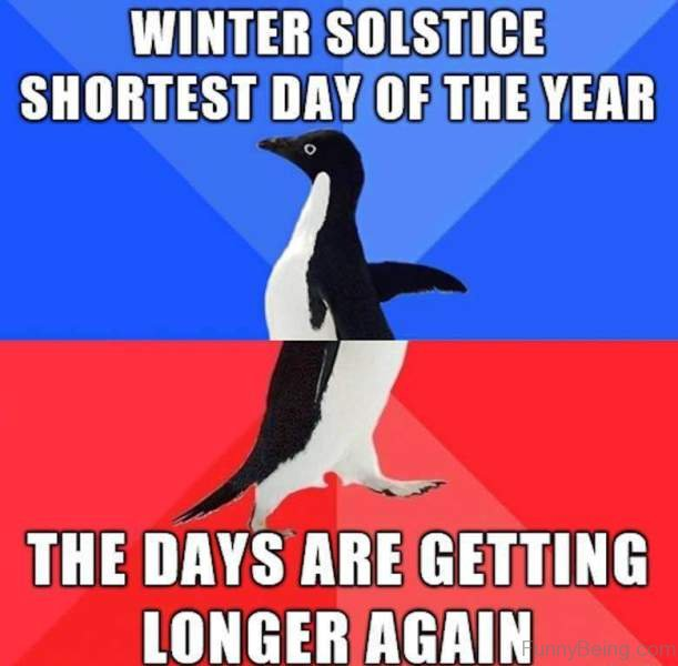 97 funniest winter memes ever for What day is the shortest day of the year