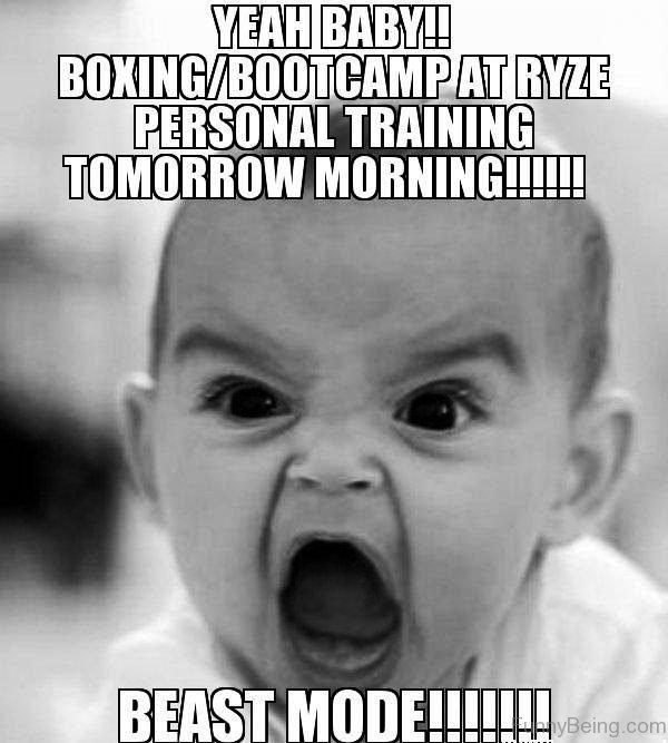 Yeah Baby Boxing Bootcamp At Ryze