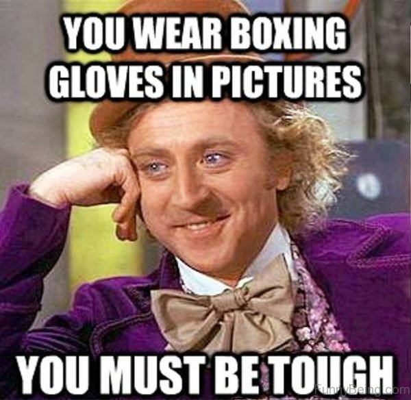 You Wear Boxing Gloves In Pictures