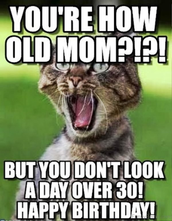 You re How Old Mom