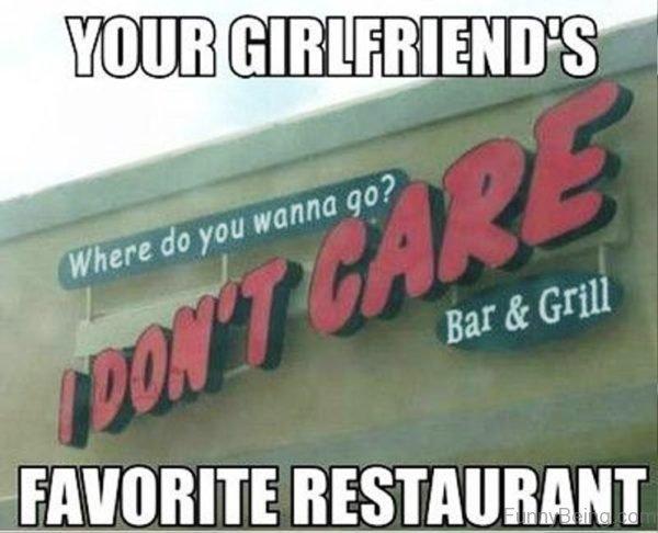 Your Girlfriends Favorite Restaurant