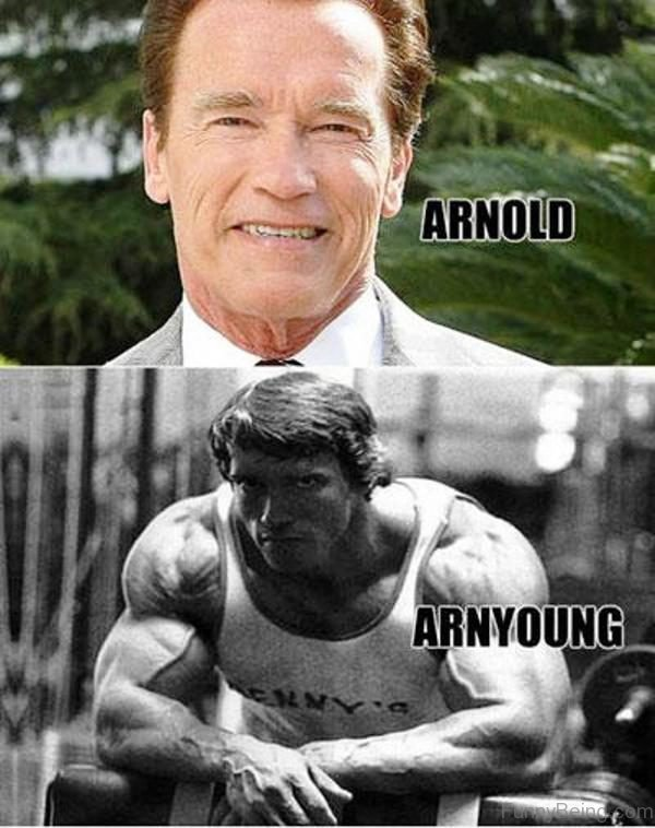 Arnold Vs Arnyoung