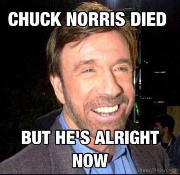 Chuck Norris Died