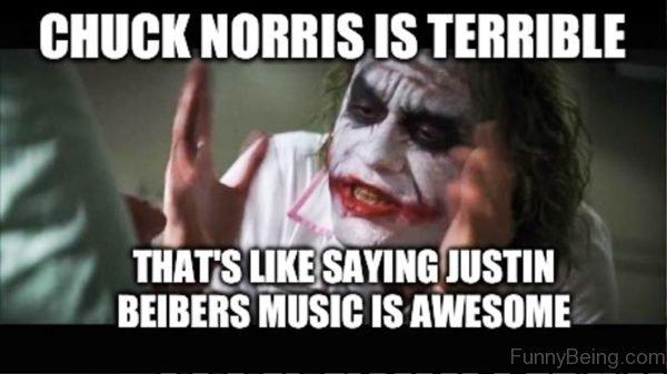 Chuck Norris Is Terrible