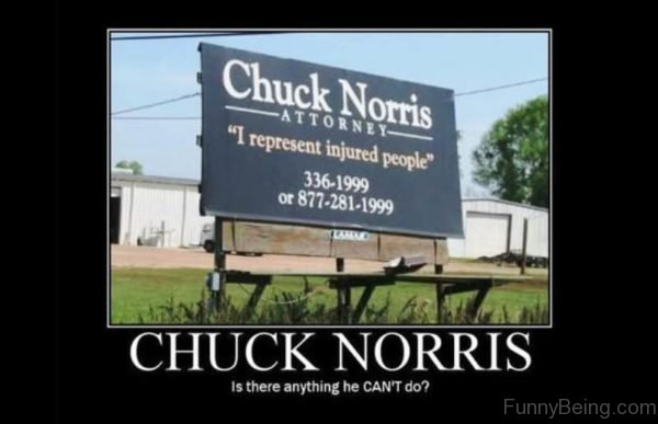 Chuck Norris Is There Anything He Cant Do