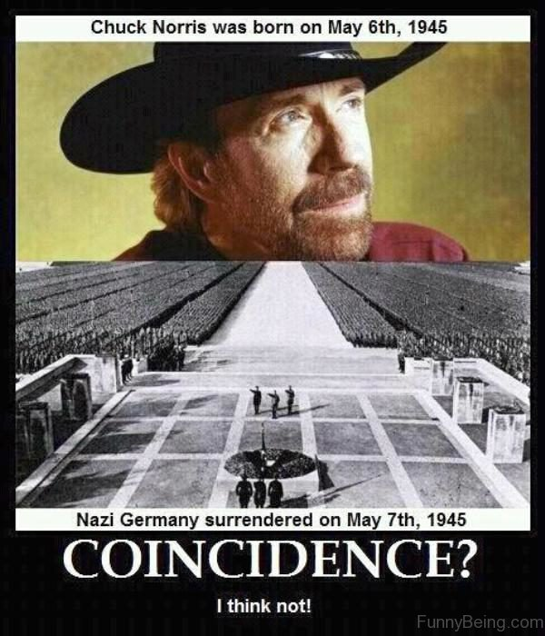Chuck Norris Was Born On May 6th