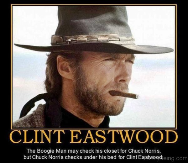 Clint Eastwood The Boogie Man May Check
