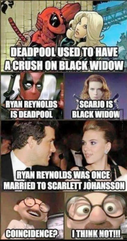 Deadpool Used To Have A Crush