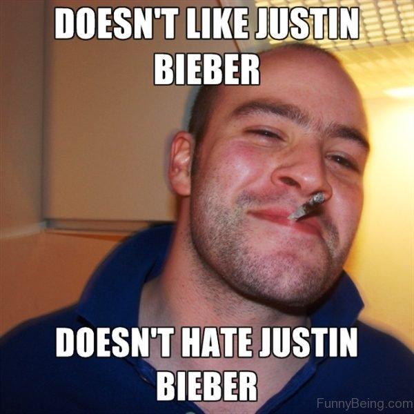 Doesnt Like Justin Bieber