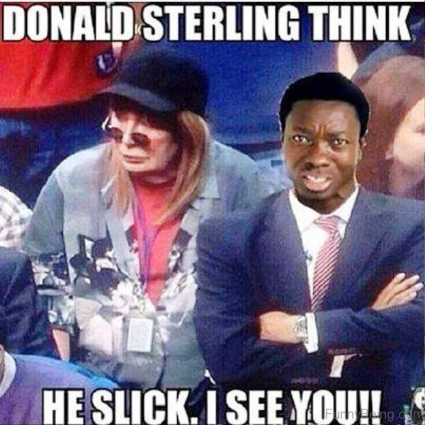 Donald Sterling Think