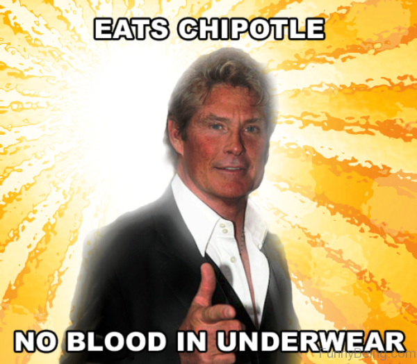 Eats Chipotle