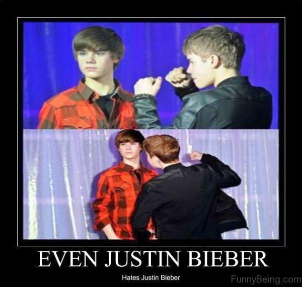 Even Justin Bieber Hates Justin Bieber