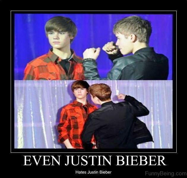 Even Justin Bieber Hates Justin Bieber 80 most embarrassing justin bieber memes