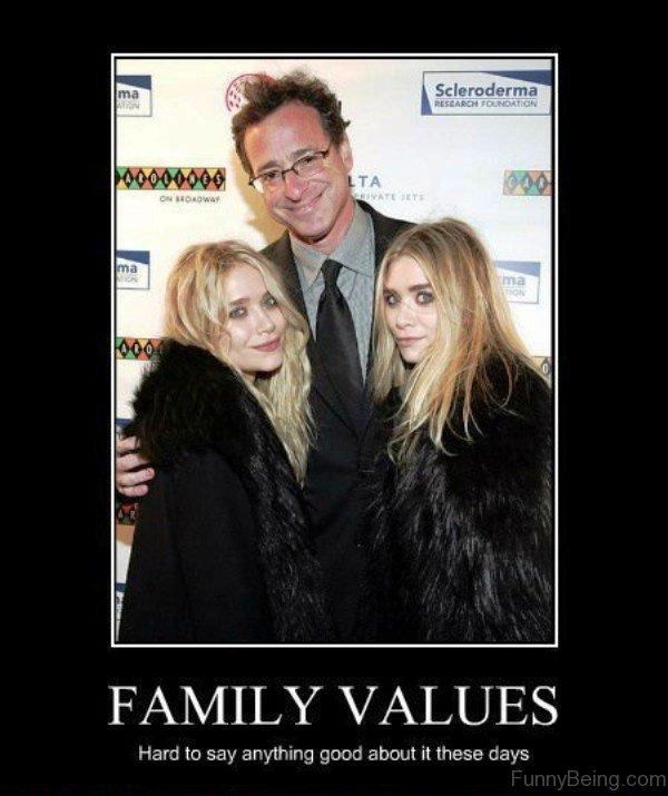 Family Values Hard To Say