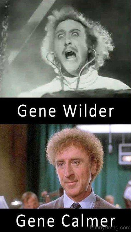 Gene Wilder Vs Gene Calmer