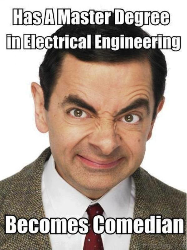 Has A Master Degree In Electrical Engineering