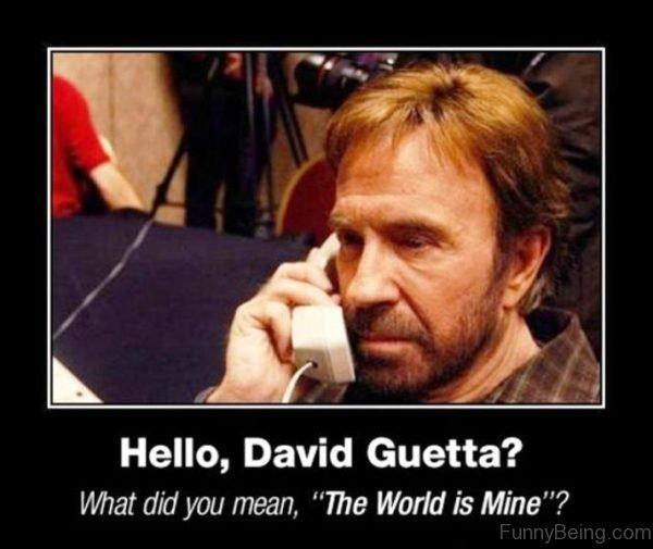 Hello David Guetta