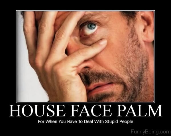 House Face Palm