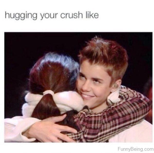 Hugging Your Crush Like