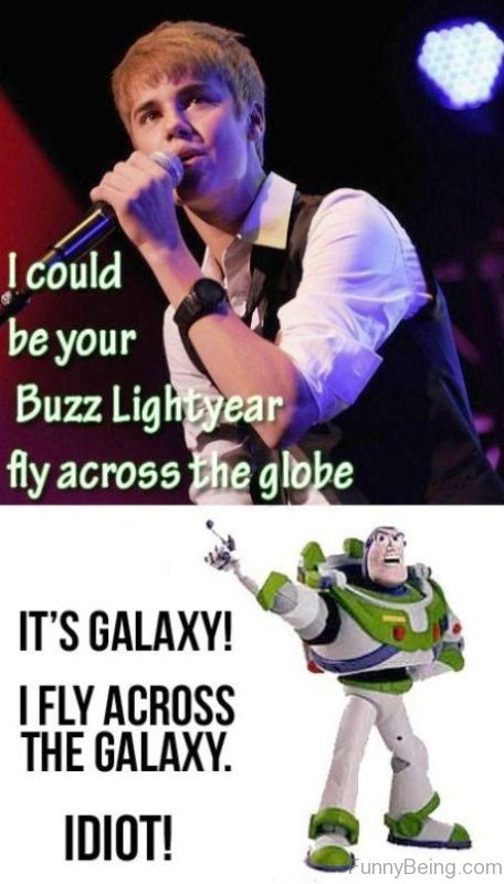 I Could Be Your Buzz Lightyear Fly Across