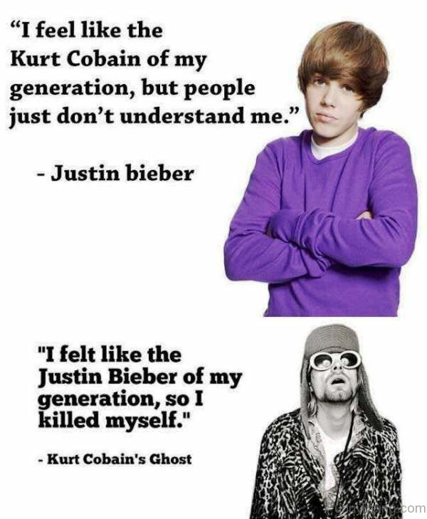 I Feel Like The Kurt Cobain
