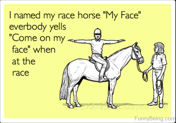 I Named My Race Horse