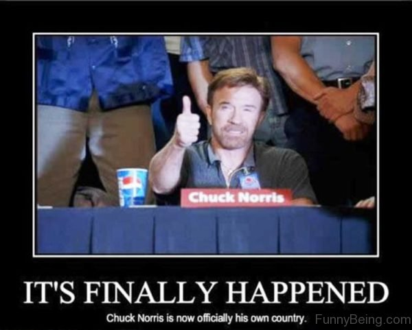 Its Finally Happened Chuck Norris