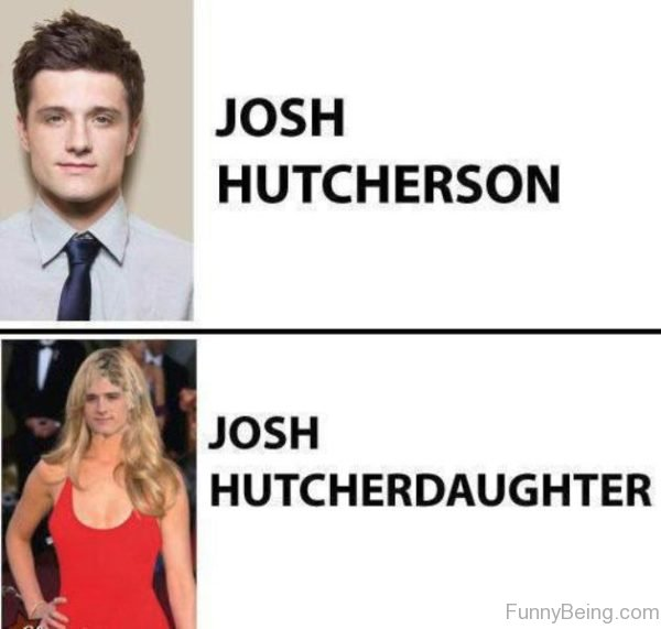Josh Hutcherson Vs Josh Hutcherdaughter