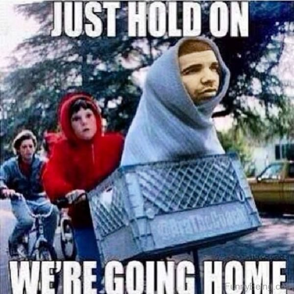 Just Hold On We re Going Home