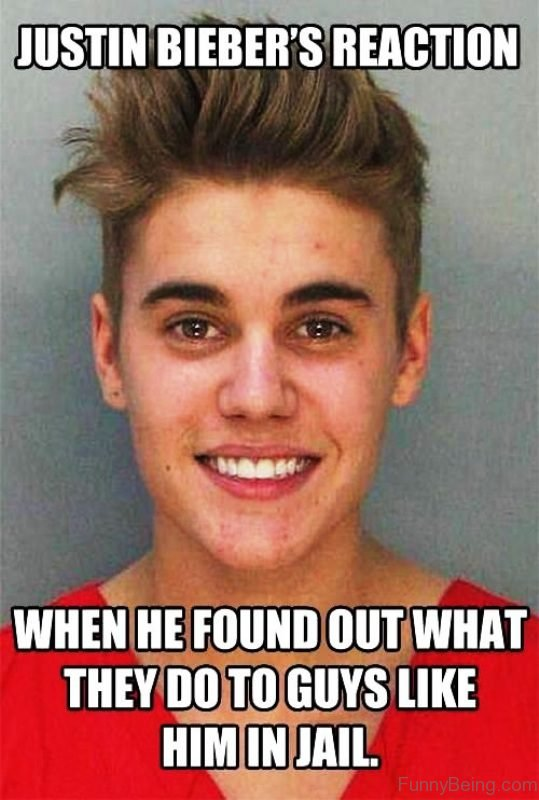 Justin Biebers Reaction
