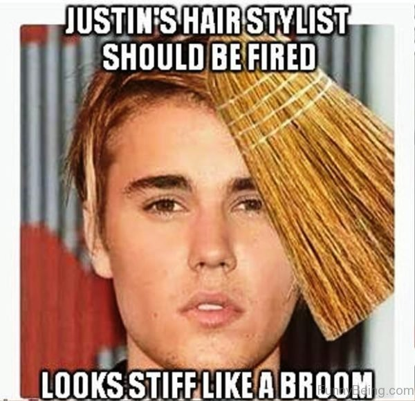Justins Hair Stylist Should Be Fired