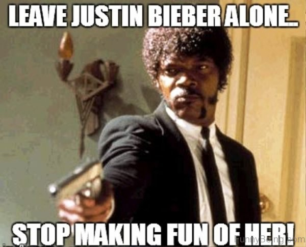 Leave Justin Bieber Alone