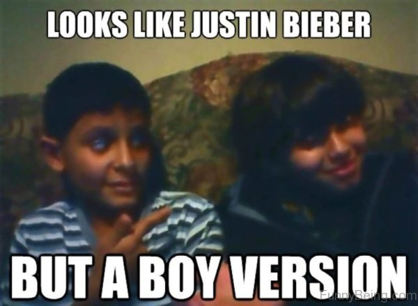 Looks Like Justin Bieber