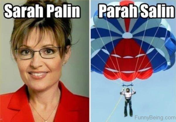 Sarah Palin Vs Parah Salin