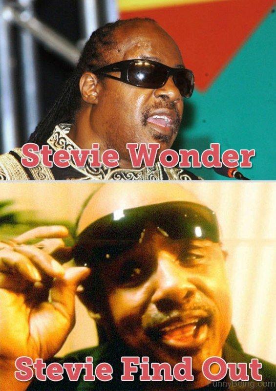 Stevie Wonder Vs Stevie Find Out